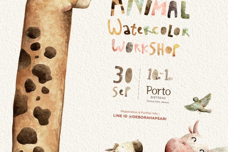 Animal Watercolor Workshop